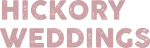 Hickory Weddings Logo